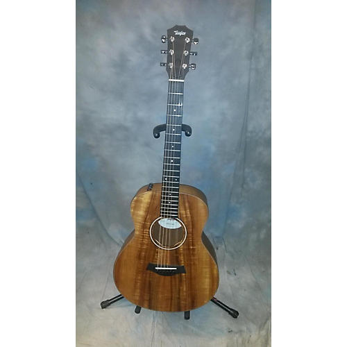 used taylor gs mini e koa acoustic electric guitar guitar center. Black Bedroom Furniture Sets. Home Design Ideas