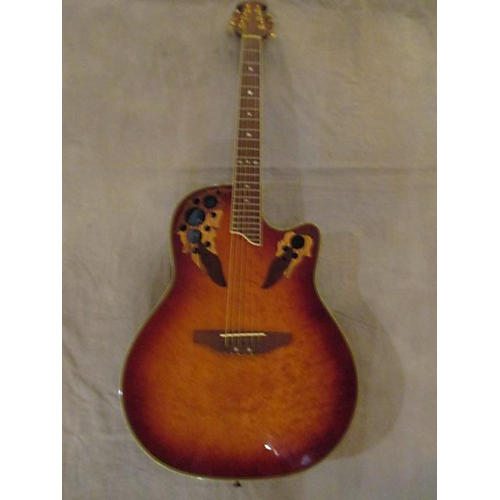 Ovation GS257 CELEBRITY Acoustic Electric Guitar-thumbnail