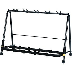 Click here to buy Hercules Stands GS525B Five-Instrument Guitar Rack by Hercules Stands.