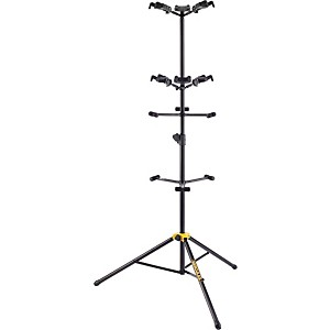 Hercules Stands GS526B Guitar Rack with 6 Piece Folding Yokes by Hercules Stands