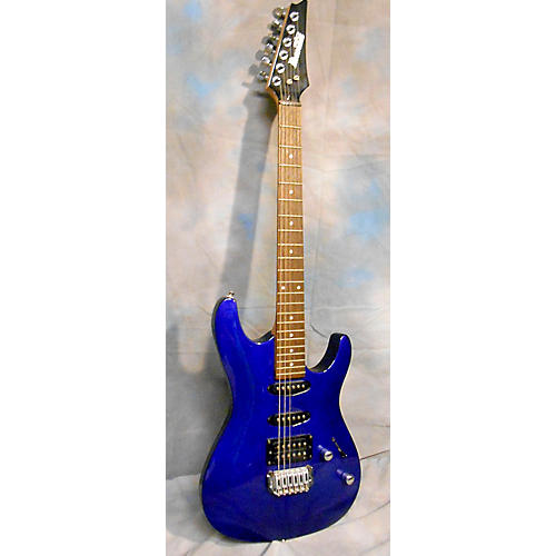 Ibanez GSA60 Blue Solid Body Electric Guitar-thumbnail