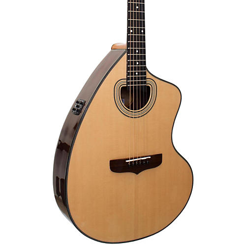 Giannini GSCRA PRO CEQ B-BAND Hand Built Acoustic Electric Guitar-thumbnail