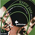 Galli Strings GSL11 GYPSY JAZZ Silver Plated Silk And Steel Medium Acoustic Guitar Strings  Thumbnail
