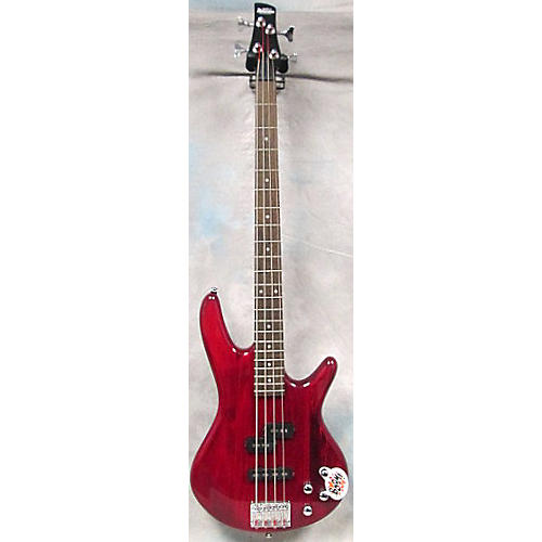 Ibanez GSR200 Trans Red Electric Bass Guitar