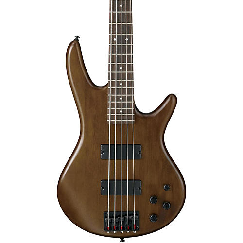 Ibanez GSR205 5-String Electric Bass Flat Walnut Rosewood fretboard