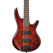 GSR205SM 5-String Electric Bass Charcoal Brown Burst Rosewood fretboard