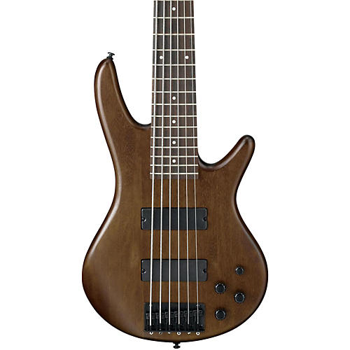 Ibanez GSR206 6-String Electric Bass Flat Walnut Rosewood fretboard