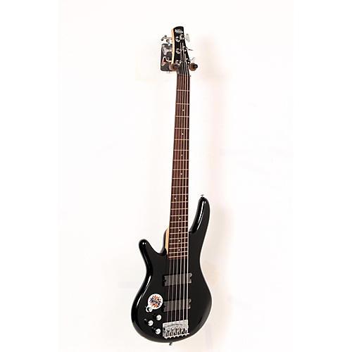 Ibanez GSR206L Left-Handed 6-String Electric Bass Guitar Black 888365344478