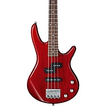 GSRM20 Mikro Short-Scale Bass Guitar Transparent Red Rosewood