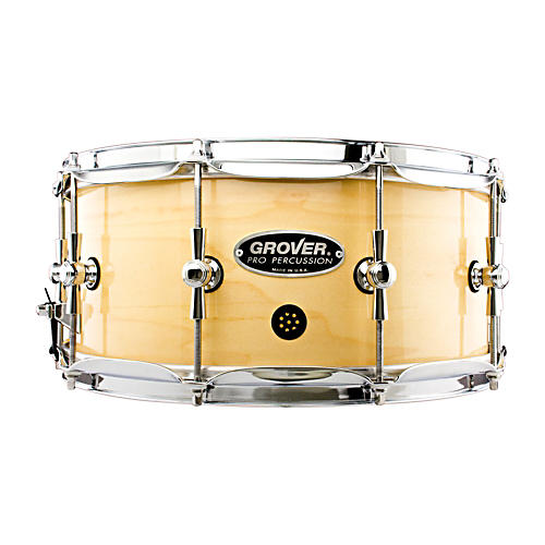 Grover Pro GSX Concert Snare Drum Natural Lacquer 14 x 6.5 in.