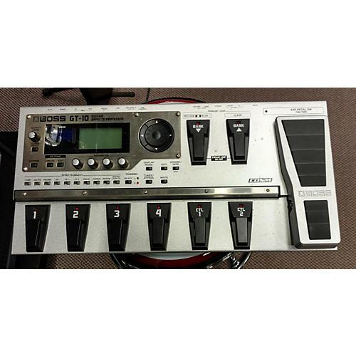 Boss GT10 Guitar Effect Processor