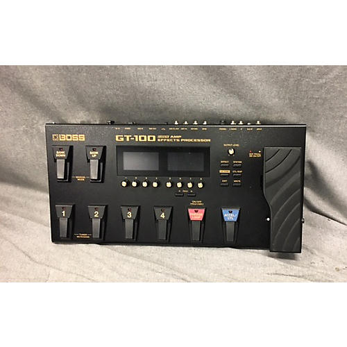 Boss GT100 Amp Effect Processor-thumbnail