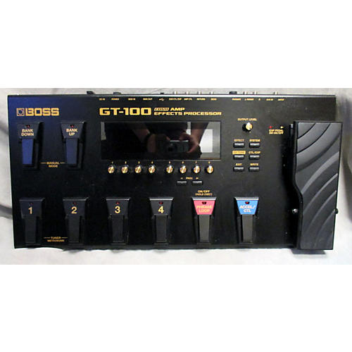 Boss GT100 Effects Effect Processor-thumbnail
