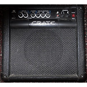 Pre-owned Crate GT15 Guitar Combo Amp by Crate