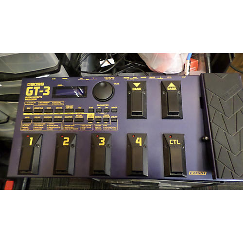 Boss GT3 Guitar Blue Effect Processor