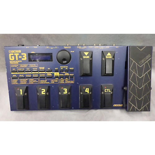 Boss GT3 Guitar Blue Effect Processor