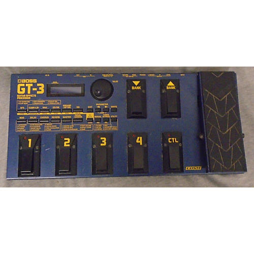 Boss GT3 Guitar Effect Processor