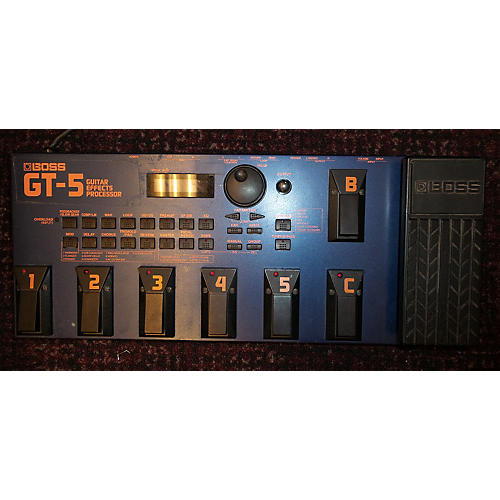Boss GT5 Effect Processor-thumbnail