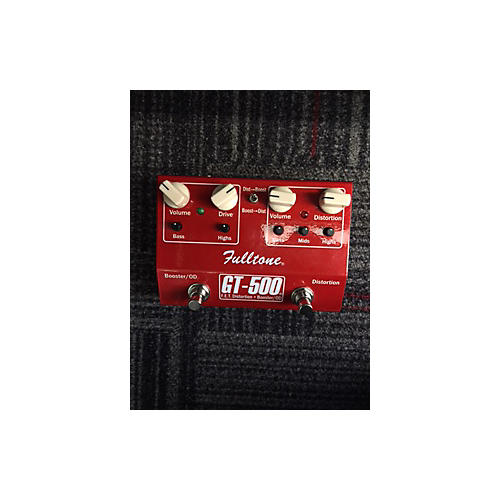 Fulltone GT500 Distortion Boost Candy Apple Red Effect Pedal