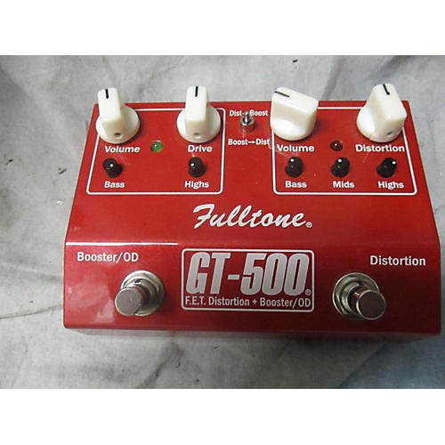Fulltone GT500 Distortion Boost Effect Pedal-thumbnail