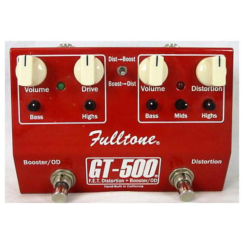 Fulltone GT500 Distortion Boost Effect Pedal