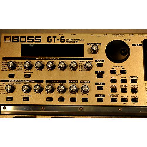 Boss GT6 Guitar Effect Processor-thumbnail