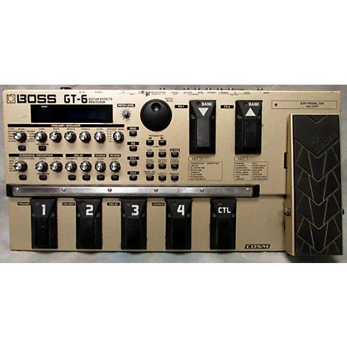 Boss GT6 Guitar Effect Processor