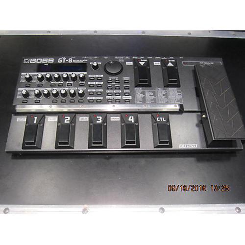 Boss GT8 Guitar EffectsProcessor Effect Processor-thumbnail