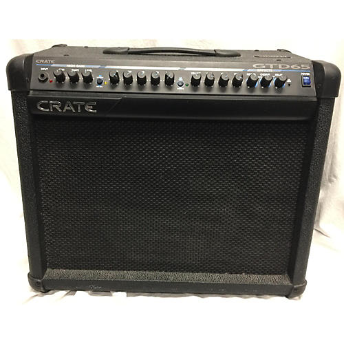used crate gtd65 guitar combo amp guitar center. Black Bedroom Furniture Sets. Home Design Ideas