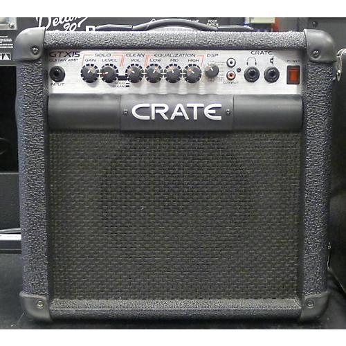 Crate GTX15 Guitar Combo Amp-thumbnail