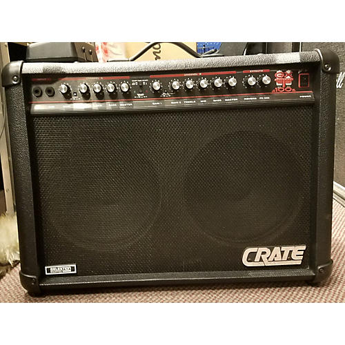 used crate gtx210 tube guitar combo amp guitar center. Black Bedroom Furniture Sets. Home Design Ideas