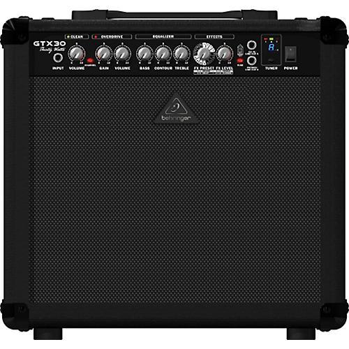 Behringer GTX30 30W 1x12 Guitar Combo Amplifier