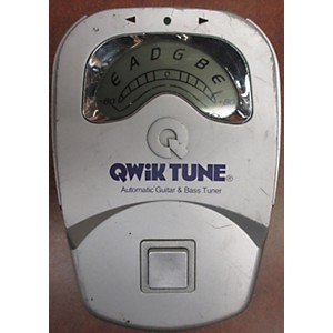 Pre-owned Qwik Tune GUITAR and BASS TUNER Tuner Pedal by Qwik Tune