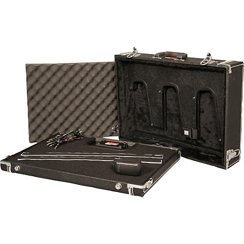 Gator GW-GIG BOX JR PWR Guitar Stand and Powered Pedal Board