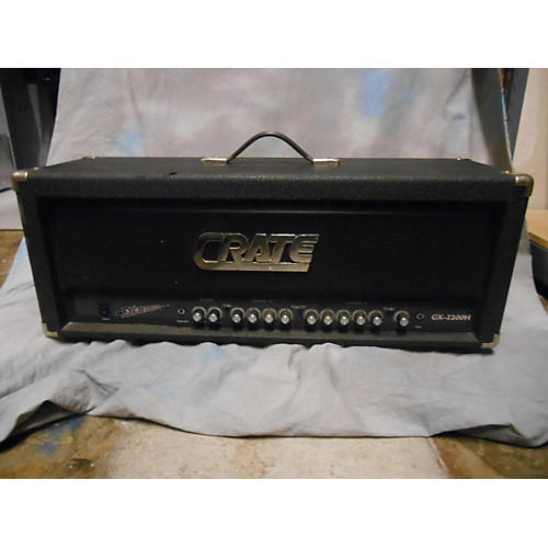 used crate gx 2200h solid state guitar amp head guitar center. Black Bedroom Furniture Sets. Home Design Ideas