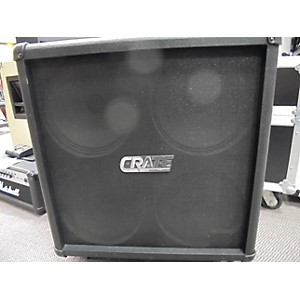 Pre-owned Crate GX 412XR Guitar Cabinet by Crate
