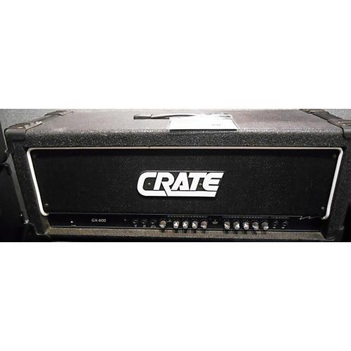 Crate GX-600 Black Guitar Amp Head-thumbnail