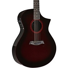 GX ELE Acoustic-Electric Guitar Wine Red Burst