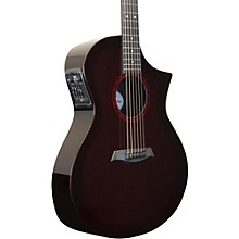 GX ELE Narrow Neck Acoustic-Electric Guitar Wine Red Burst
