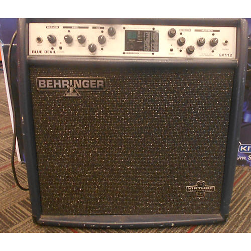 Behringer GX112 Blue Devil Guitar Combo Amp-thumbnail