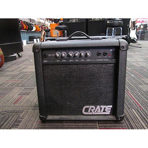 Crate GX15 Black Guitar Combo Amp