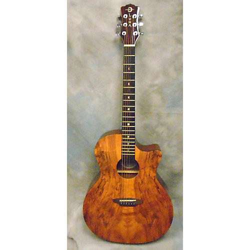 Luna Guitars GYPSY SPALT Acoustic Guitar-thumbnail