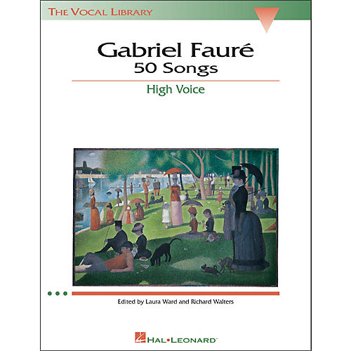 Hal Leonard Gabriel Faure - 50 Songs for High Voice-thumbnail