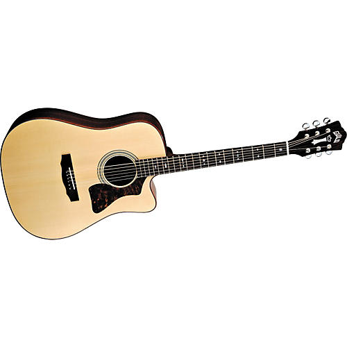 Guild Gad-40C Acoustic Design Series Cutaway Acoustic-Electric Guitar With Case-thumbnail