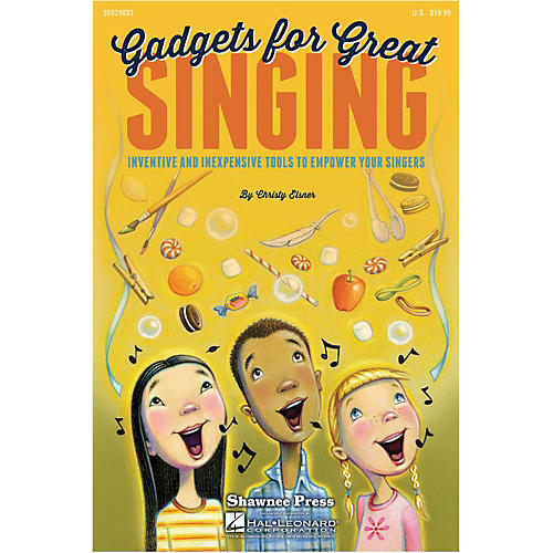 Hal Leonard Gadgets For Great Singing!  Resource Book-thumbnail