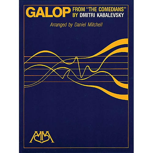 Hal Leonard Galop Concert Band Arranged by Daniel Mitchell