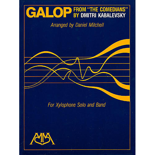Hal Leonard Galop (from The Comedians) (Xylophone Solo and Band) Concert Band Arranged by Daniel Mitchell