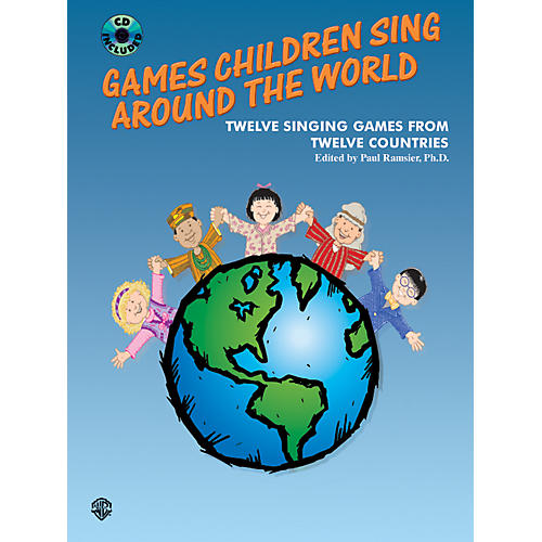 Alfred Games Children Sing Around the World (Book/CD)-thumbnail