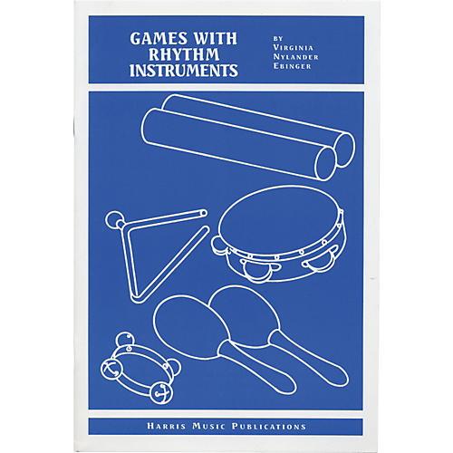 Rhythm Band Games with Rhythm Instruments Book