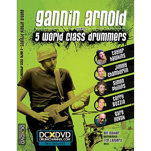 Alfred Gannin Arnold - 5 World Class Drummers 2 DVD Set